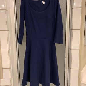 Navy blue dress from old navy size small